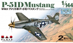 P-51D North American Aviation (NAA), Mustang - PLATZ PDR-1 1/144