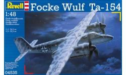 Ta 154A-0 Focke-Wulf, Moskito - REVELL 04535 1/48