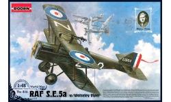 S.E.5a Royal Aircraft Factory (RAE) - RODEN 416 1/48