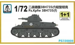 Panzerkampfwagen 38H 735(f), H35, Hotchkiss - S-MODEL PS720009 1/72
