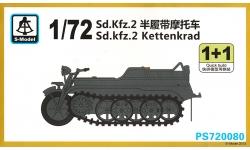Kleines Kettenkraftrad HK 101, Sd.Kfz. 2, NSU, Kettenkrad - S-MODEL PS720080 1/72
