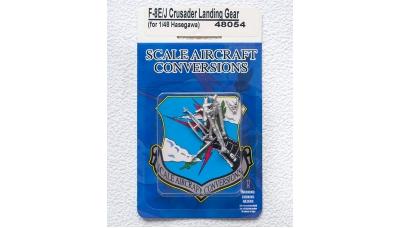 Стойки шасси для F-8E/J Vought, Crusader (HASEGAWA) - SAC 48054 1/48