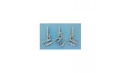 Стойки шасси для MB-326 Aermacchi (Italeri / ESCI) - SAC 48194 1/48 PREORD