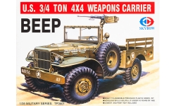 Dodge WC51/52 ¾ ton 4×4 - SKYBOW TP3501 1/35