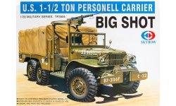 Dodge WC62/63 1½ ton 6×6 - SKYBOW TP3504 1/35
