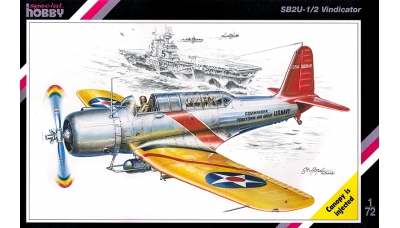 SB2U-1/2 Vought, Vindicator - SPECIAL HOBBY SH72029 1/72