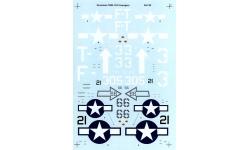 TBM-1C/3 Grumman (GM), Avenger - SUPERSCALE INTERNATIONAL 48-740 1/48