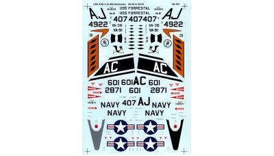 A-4B Douglas, Skyhawk - SUPERSCALE INTERNATIONAL 48-763 1/48