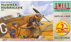 Hurricane Mk. I Hawker - SWEET 14102-1000 1/144