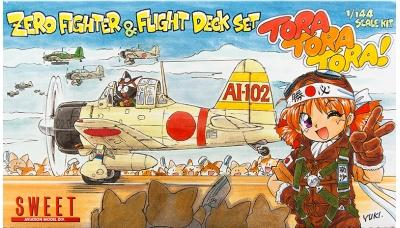 A6M2b Type 21 Mitsubishi - SWEET 14110-1000 1/144