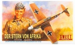 Bf 109F-4 Messerschmitt, Friedrich - SWEET 14114-1000 1/144
