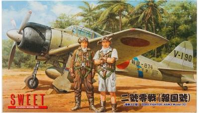 A6M3 Type 32 Mitsubishi - SWEET 14121-1000 1/144