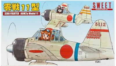 A6M2a Type 11 Mitsubishi - SWEET 14132-1500 1/144