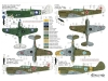 P-40M/N Curtiss, Warhawk - TALLY HO DECALS 48004 1/48