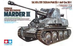 Marder III, Panzerjäger 38(t), Sd.Kfz. 139, 7.62 cm PaK 36(r) - TAMIYA 35248 1/35