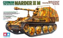 Marder III, Panzerjäger 38(t), Sd.Kfz. 138, 7.5 cm PaK 40/3, Ausf. M - TAMIYA 35255 1/35