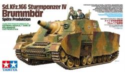 Sturmpanzer IV, Sd.Kfz. 166, Brummbär, Alkett, DEW - TAMIYA 35353 1/35