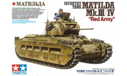 Matilda II Mk. III/IV Infantry Tank Mark IIA/II - TAMIYA 35355 1/35