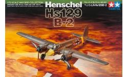 Hs 129B-2 Henschel, Büchsenöffner - TAMIYA 60730 1/72