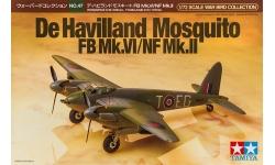 Mosquito FB Mk. VI & NF Mk. II De Havilland - TAMIYA 60747 1/72