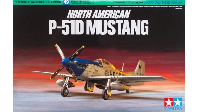 P-51D North American Aviation, Mustang - TAMIYA 60749 1/72