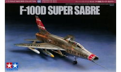 F-100D  North American, Super Sabre - TAMIYA 60760 1/72