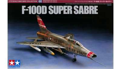F-100D  North American, Super Sabre - TAMIYA 60760 1/72