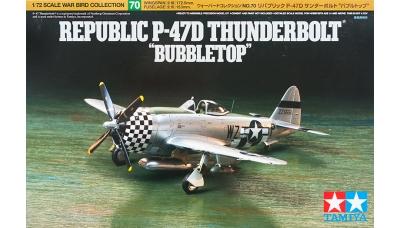 P-47D Republic, Thunderbolt - TAMIYA 60770 1/72