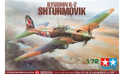 Ил-2 Ильюшин - TAMIYA 60781 War Bird Collection 81 1/72