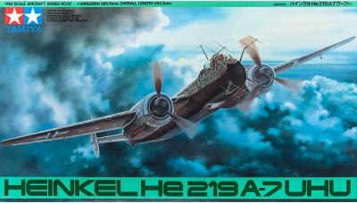 He 219A-7 Heinkel, Uhu - TAMIYA 61057 1/48