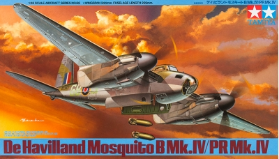 Mosquito B Mk. IV & PR Mk. IV De Havilland - TAMIYA 61066 1/48
