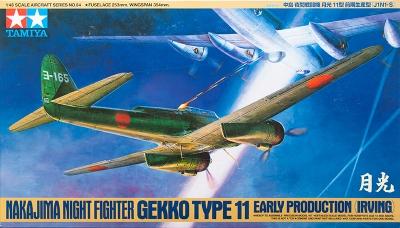 J1N1-S Nakajima, Gekko - TAMIYA 61084 1/48