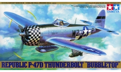 P-47D Republic, Thunderbolt - TAMIYA 61090 1/48