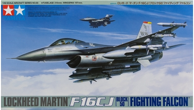F-16CJ  General Dynamics, Fighting Falcon - TAMIYA 61098 1/48