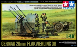 2 cm Flakvierling 38, Rheinmetall - TAMIYA 32554 1/48
