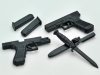 Glock 17 & 18C - TOMYTEC LA028 1/12