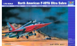 F-107A North American, Ultra Sabre - TRUMPETER 01605 1/72
