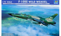 F-105G Republic, Thunderchief - TRUMPETER 01618 1/72