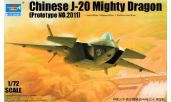J-20 Chengdu Aircraft Corporation (CAC) - TRUMPETER 01665 1/72