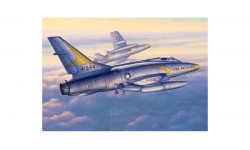 F-100C North American, Super Sabre - TRUMPETER 02838 1/48