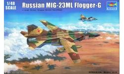 МиГ-23МЛ - TRUMPETER 02855 1/48