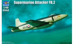 Attacker FB.2 Supermarine - TRUMPETER 02867 1/48