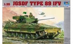 Type 89 Infantry Fighting Vehicle Mitsubishi - TRUMPETER 00325 1/35