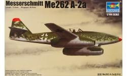 Me 262A-2a Messerschmitt - TRUMPETER 01318 1/144