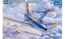 F-86F-30 North American, Sabre - TRUMPETER 01320 1/144
