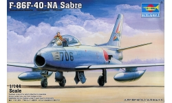 F-86F-40 North American, Sabre - TRUMPETER 01321 1/144
