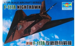 F-117A Lockheed, Nighthawk - TRUMPETER 01330 1/144