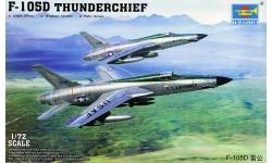 F-105D Republic, Thunderchief - TRUMPETER 01617 1/72
