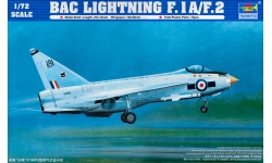 Lightning F.1A/F.2 English Electric - TRUMPETER 01634 1/72