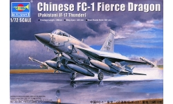 JF-17 Block 1 PAC, Thunder / FC-1 CAC, Xiaolong - TRUMPETER 01657 1/72